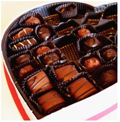 image of box of chocolates
